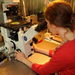 Operación del microscopio de fluorescencía