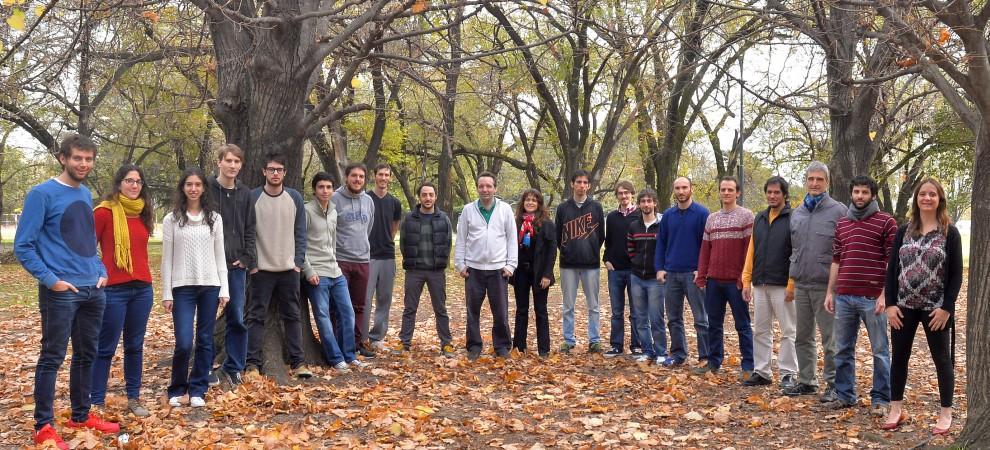 Integrantes del Laboratorio de Electróncia Cuántica